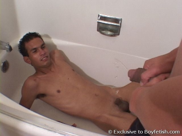 Gay pissing twinks