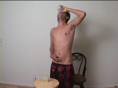 twink pissing peeing drinking piss watersports gay fetish