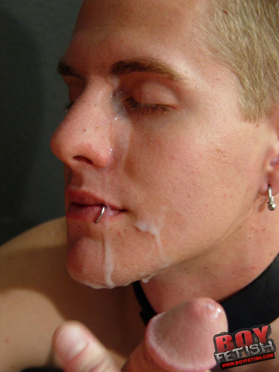 Gay Boy Cum Facial