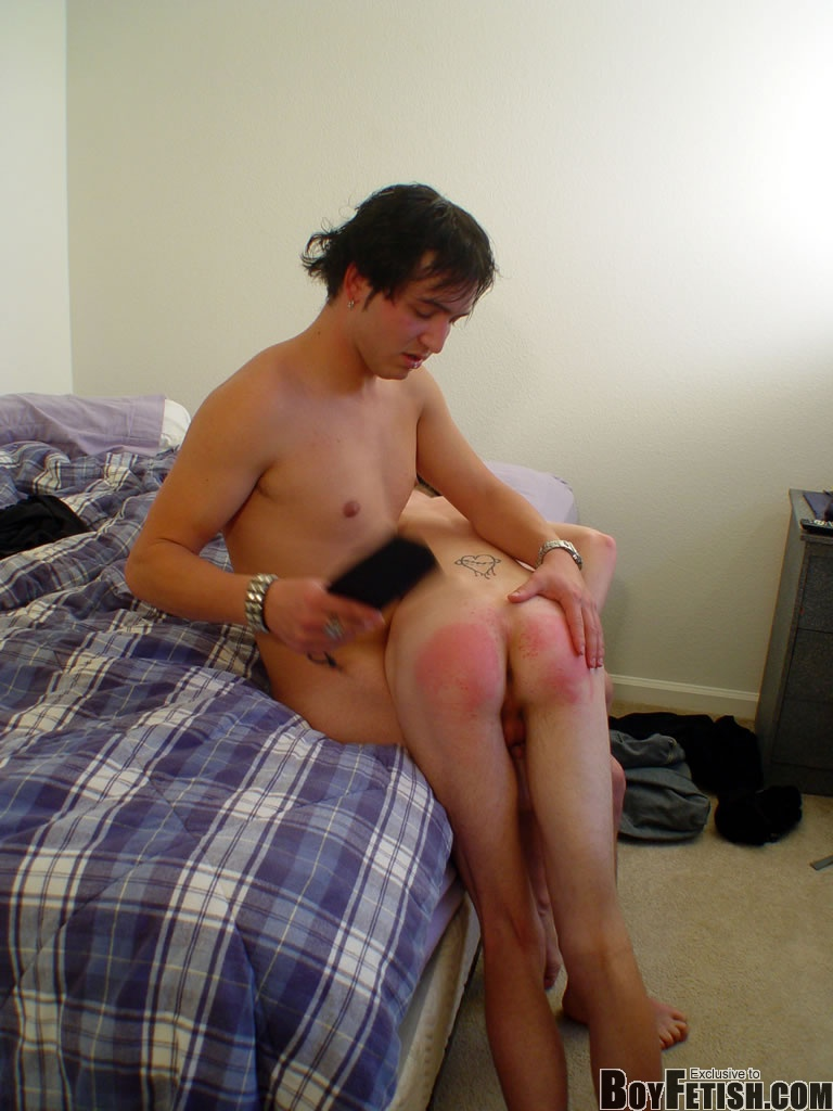 Nasty Young Twink Crying For More Spanking